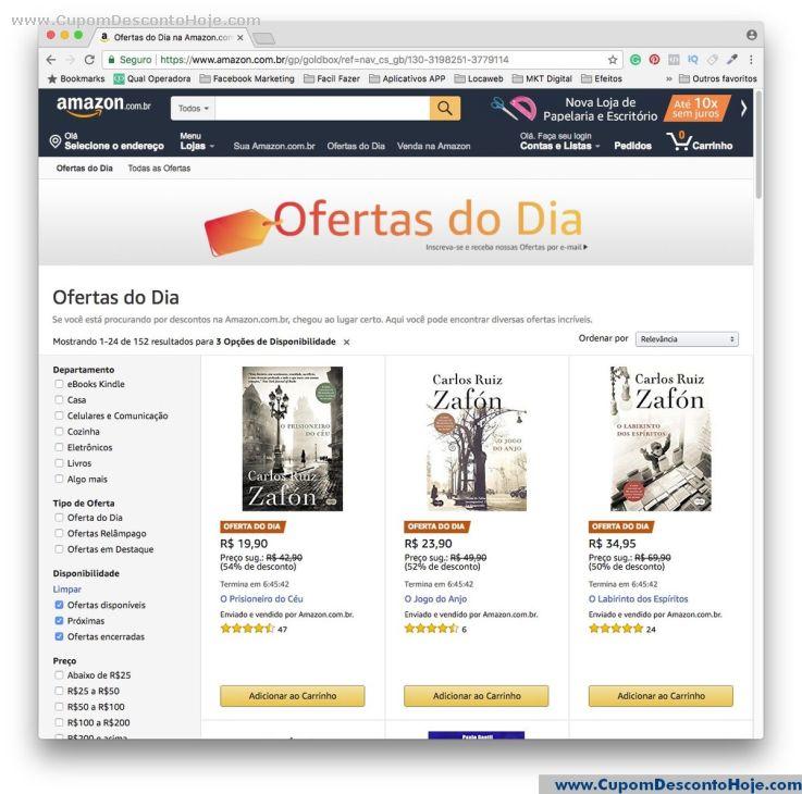 Cupom Desconto Amazon