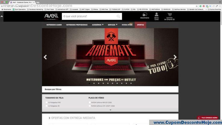 Loja Virtual  da Loja Avell
