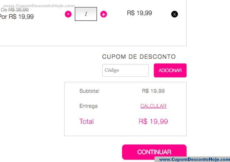Cupom Desconto da Loja Virtual Avon Store