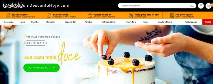 Cupom Desconto Bololo