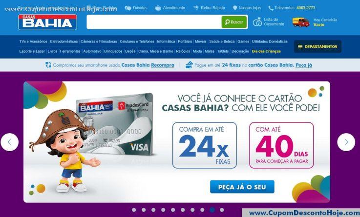 Loja Virtual  da Loja Casas Bahia