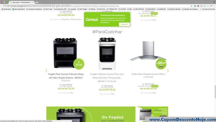 Cupom Desconto da Loja Virtual Consul
