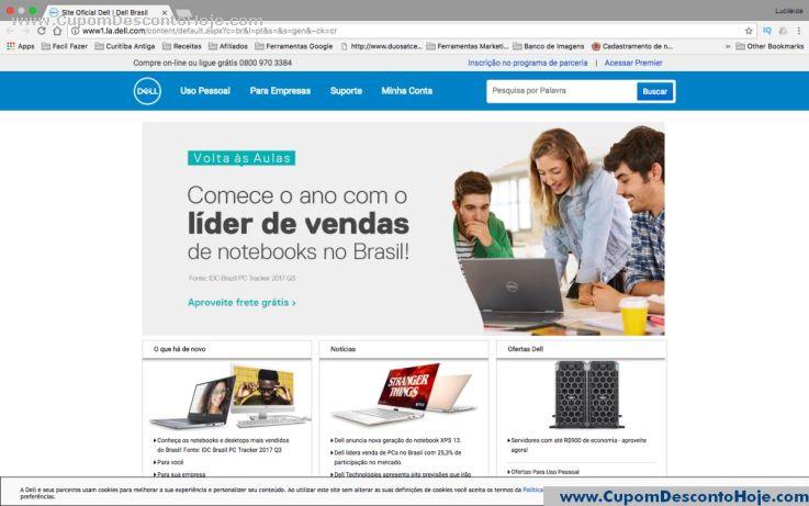 Loja Virtual - Cupom Desconto Dell