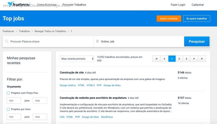 Loja Virtual - Cupom Desconto Freelancer