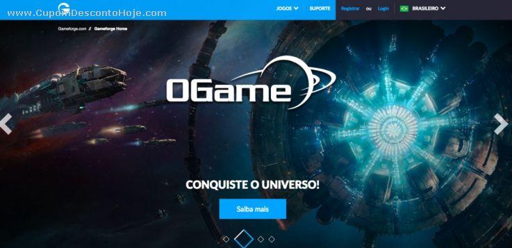 Loja Virtual - Cupom Desconto gameforge