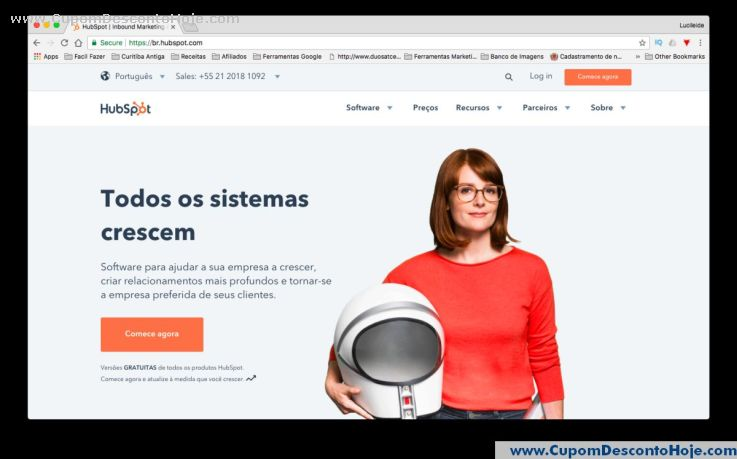 Loja Virtual - Cupom Desconto Hubspot