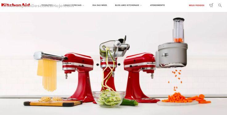 CheckOut da Loja Virtual - Cupom Desconto kitchenAid