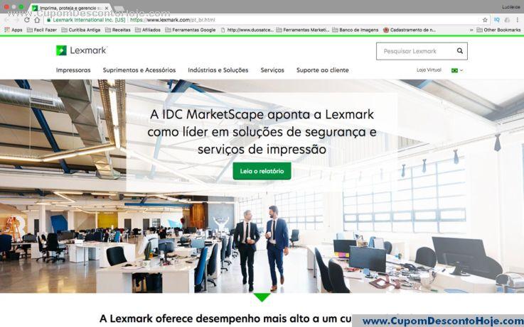 Loja Virtual - Cupom Desconto Lexmark