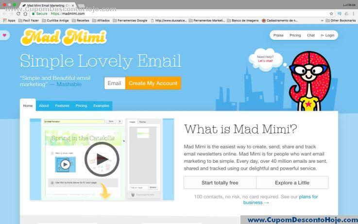 Loja Virtual - Cupom Desconto Mad Mimi