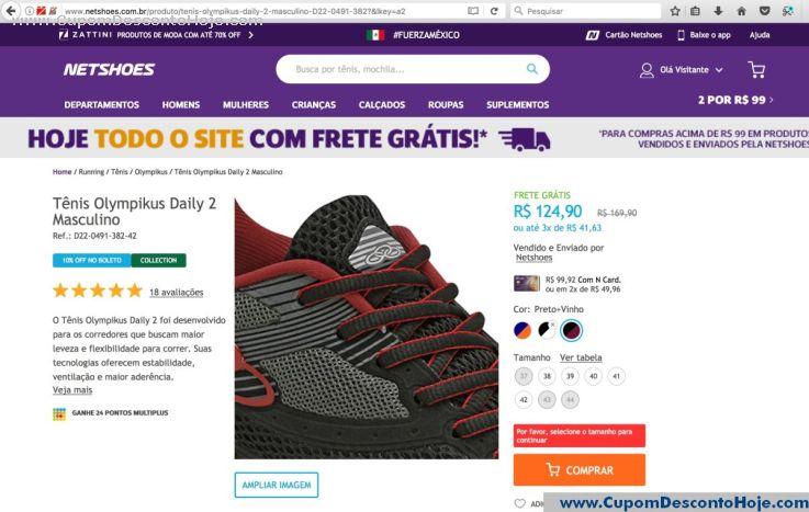 Cupom Desconto Netshoes