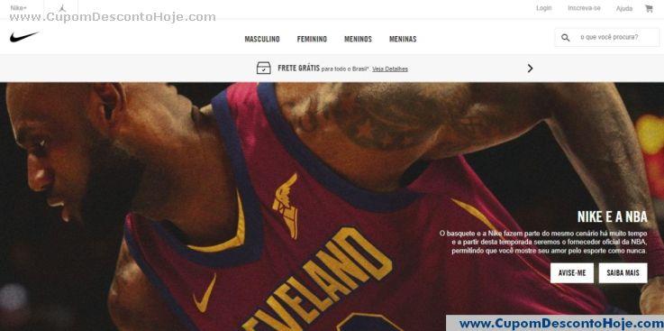 Loja Virtual - Cupom Desconto Nike