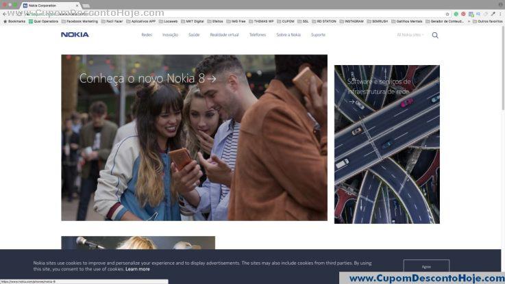 Loja Virtual - Cupom Desconto Nokia