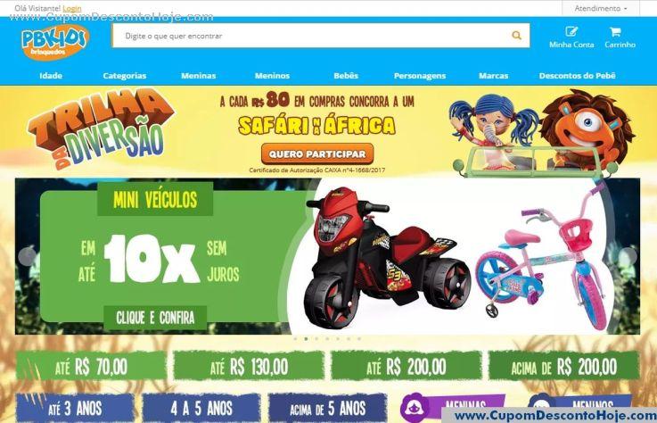 Loja Virtual  da Loja PB Kids