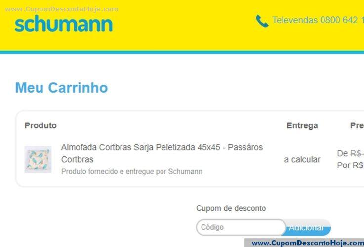 Cupom Desconto Schumann