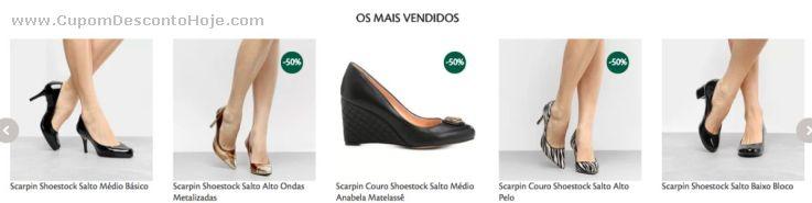 CheckOut da Loja Virtual - Cupom Desconto Shoestock