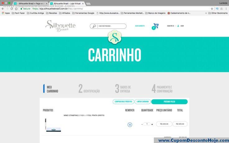 CheckOut da Loja Virtual Silhouette Brasil