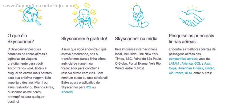 Cupom Desconto Skyscanner