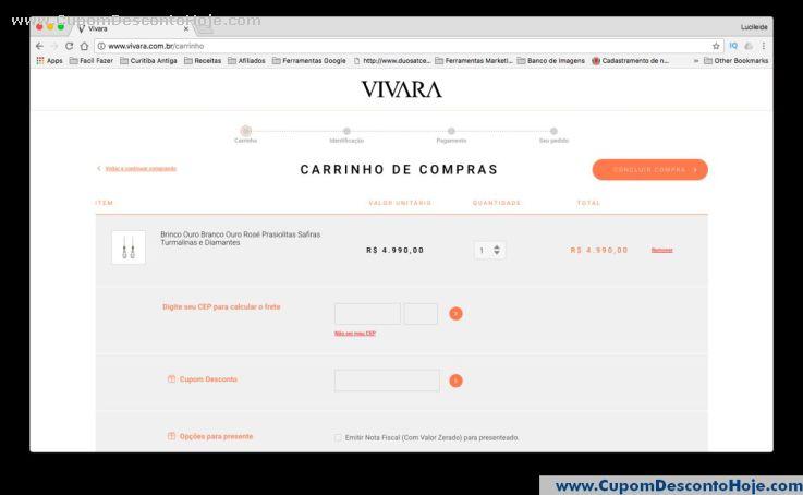 Cupom Desconto Vivara