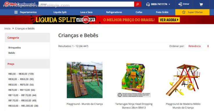 Cupom Desconto da Loja Virtual Webcontinental