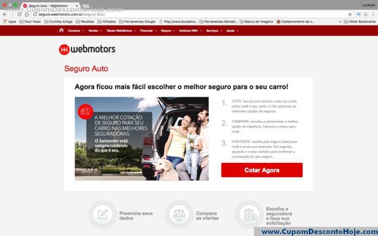 Cupom Desconto Webmotors