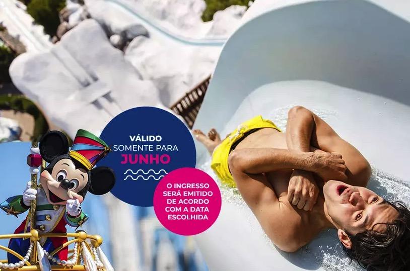 Cupom Desconto 4 dias em Junho Ingressos para Walt Disney World Resort