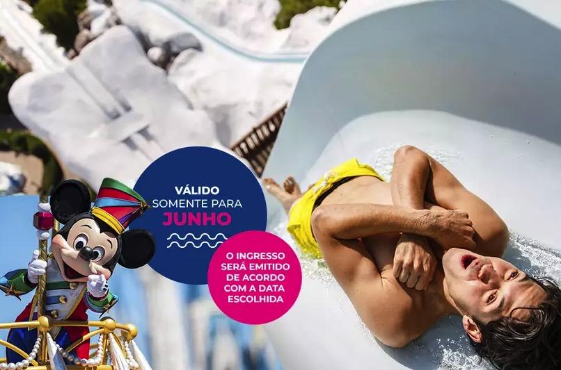 Cupom Desconto 5 dias em Junho Ingressos para Walt Disney World Resort