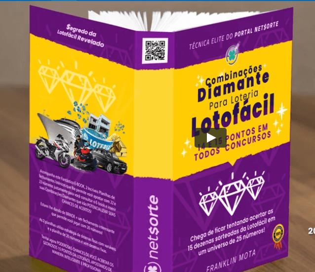 Cupom de Desconto E  book Combinações Diamantes da Lotofácil