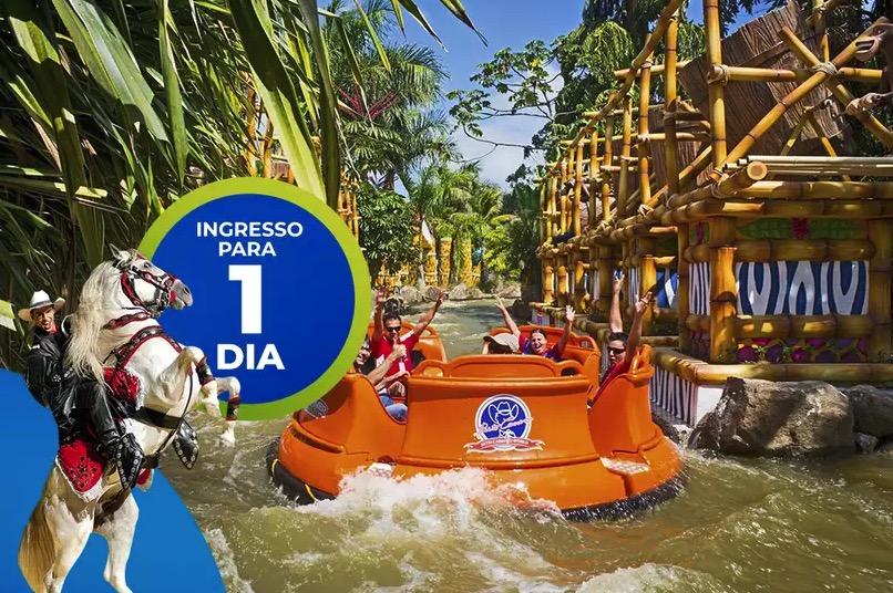 Cupom Desconto Ingresso 1 Dia de Parque Beto Carrero World