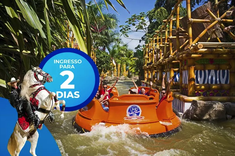 Cupom Desconto Ingresso 2 Dias de Parque Beto Carrero World