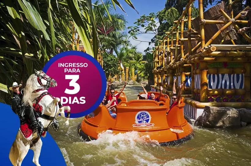 Cupom Desconto Ingresso 3 dias de Parque Beto Carrero World