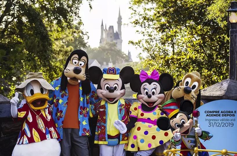 Cupom Desconto Ingressos para o Walt Disney World Orlando 6 dias