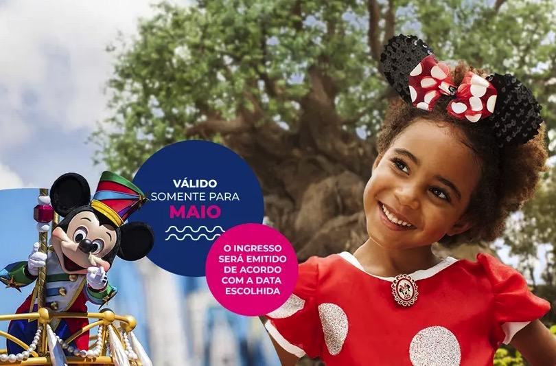 Cupom Desconto Ingressos para Walt Disney World Resort