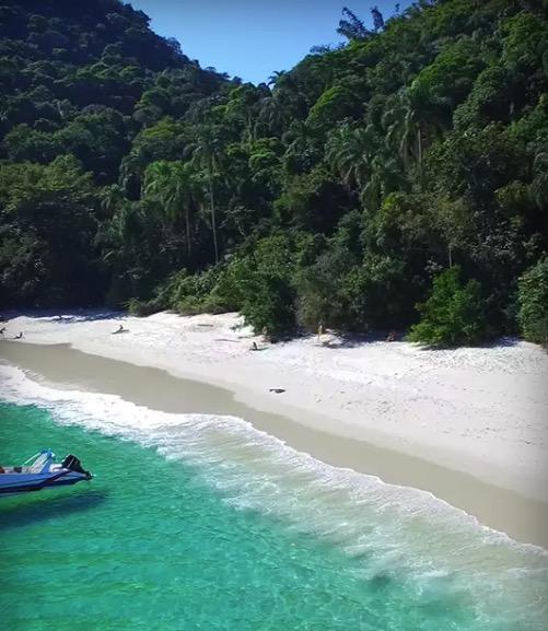 Cupom Desconto Passeio de Lancha Volta pela Ilha Gipóia Passeio de Lancha com Guia de Turismo em Angra dos Reis Rio de Janeiro