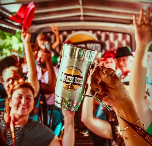 Cupom Desconto Passeio em Ônibus Temático - Bus Bier Tour Cervejarias GramBier + Rasen Bier + Cervejaria do Farol