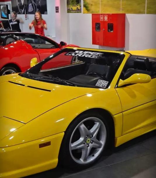 Cupom Desconto Passeio no Super Carro Ferrari F355 Spider